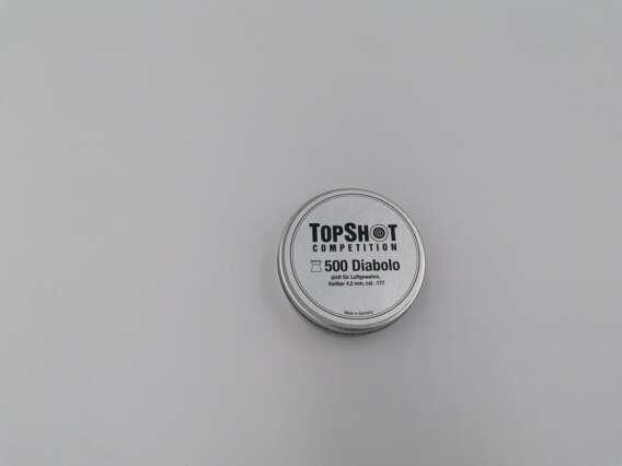 Śrut do wiatrówki kal. 4,5 mm firmy TOPSHOT COMPETITION
