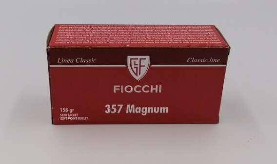 Amunicja rewolwerowa kal. 357 magnum firmy fiocchi