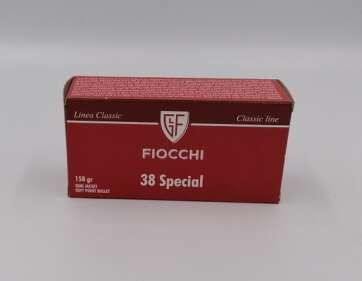 Amunicja rewolwerowa kal. 38 special firmy fiocchi