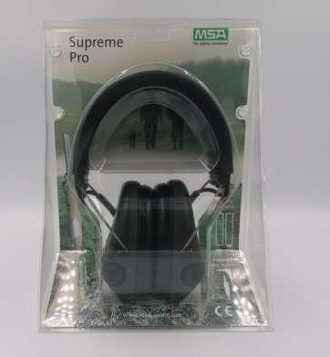 Ochronniki słuchu aktywne MSA Supreme Pro-X 75302-X zielone