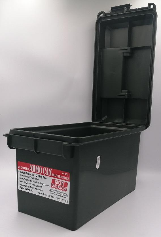 Pudełko na amunicje kolor zielony