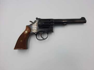 """Rewolwer Smith&Wesson, mod.17-4, USA, 6"""" kal. 22lr"""